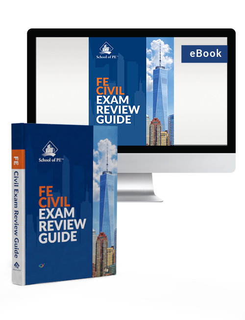 FE Civil Exam Review Guide (Hard Cover &电子书)