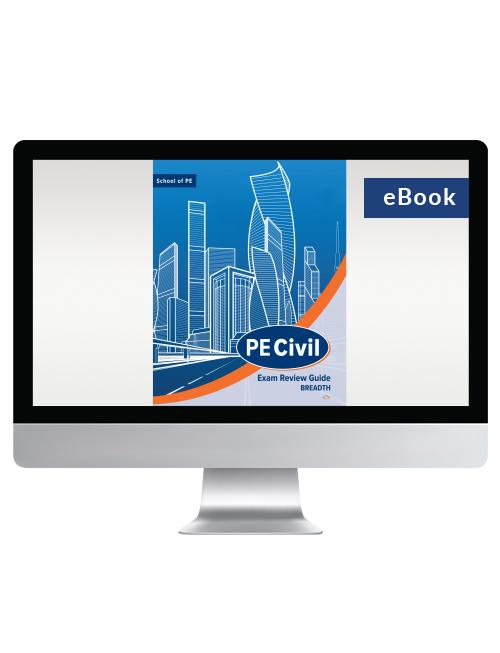 PE Civil Exam Review Guide: Breadth (eBook)