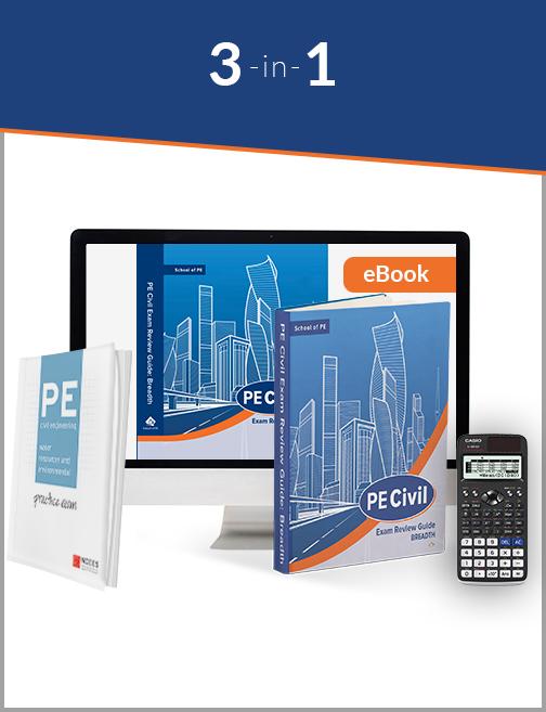 3-in-1 PE Civil WR/ENV-Study Bundle