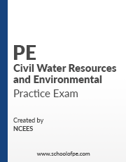NCEES PE Civil: Water Resources and Environmental Practice Exam
