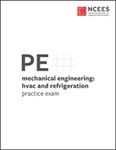 NCEES PE Mechanical Engineering: HVAC and Refrigeration Practice Exam
